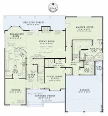 craftsman style house plan 4 beds 3 00 baths 2755 sq ft plan 17