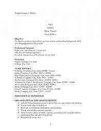Resume Job History Stay At Home Mom With Little Work History Resume Example Resume