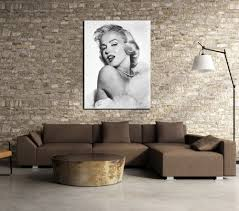 Marilyn Monroe Bedroom by Aliexpress Com Buy Unframed 1 Piece New High Quality Marilyn