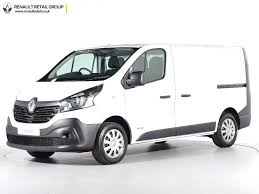 renault trafic back nearly new renault for sale trafic sl27 dci 120 van white