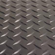 Rubber Cal Inc Wipe Your Rubber Cal Diamond Plate Rubber Roll Garage Flooring Walmart Com