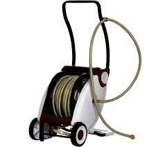 75 foot hose with foot crank powered hose reel page 1 u2014 qvc com