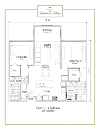 Woodhaven Floor Plan Independent Living Conroe Tx Floors Plans