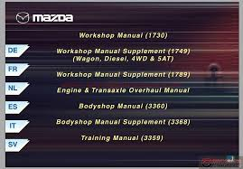 keygen autorepairmanuals ws mazda 6 full workshop manual inc