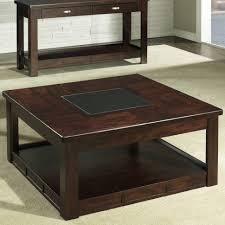 coffee table grey woodquare coffee table tufted ottoman free