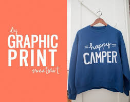 diy graphic print sweatshirts zurcher co he i u003d party of 5
