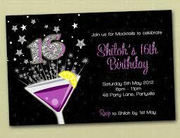 16th birthday invitations invitation ideas