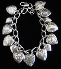 sterling bracelet with heart charm images Silver heart charm bracelet jpg