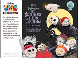 all new nightmare before tsum tsum at the disney store