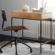 Desk Small Small Desks Office Furniture West Elm