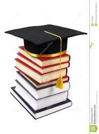graduation books stack of books with graduation cap stock photo 30766462 megapixl