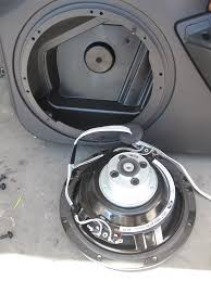 mustang shaker sound system replacing shaker 500 speakers in a 2010 2011 mustang ford