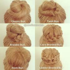 different hair buns types of braids search all of the braids