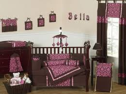 Pink And Brown Damask Crib Bedding 19 Best Damask Baby Nursery Ideas Images On Pinterest Baby