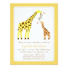 baby shower giraffe baby shower giraffe invitations s44design