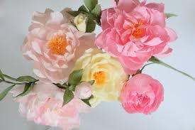wedding flowers peonies wedding peonies paper roses paper flowers paper flower bouquet