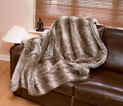 Faux Fur Blankets And Throws Tundra Wolf Luxury Faux Fur Throw Standard 140 X 180 Cm Amazon
