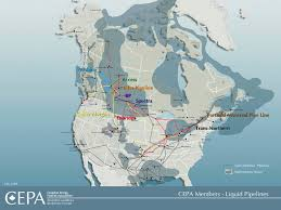 Montreal Canada Map Pipelines Nosey Parker