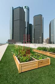 The Urban Garden Gm Renaissance Center Now Composts Food Scraps 3bl Media