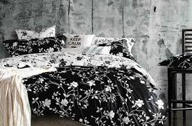 Black And White Lace Comforter Bedding Set Great Black And White Comforter Set For King Sized