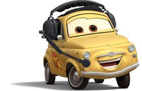 cars characters yellow characters png