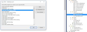xamarin layout file xamarin android ui axml intellisense is not working with visual