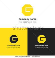 letter g logo alphabet logotype vector stock vector 467008982