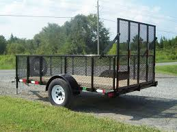 mike s 5 x 10 utility trailer wire mesh sides 0 00 mikes