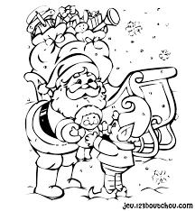 Coloriage Noel gratuit à imprimer  Part 2