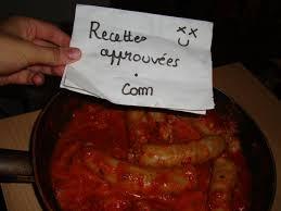 cuisiner saucisse de toulouse saucisses de toulouse à la tomate façon mercier