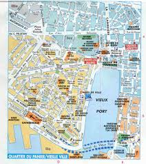 St Malo France Map by Marseille Map