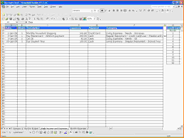 Small Business Spreadsheet Template Simple Spreadsheet For Income And Expenses Excel Spreadsheet