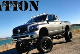 dodge trucks lifted wheel offset 2008 dodge ram 2500 aggressive 3 suspension