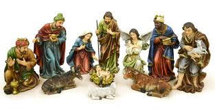 decor enchanting nativity sets with recessed lighting for