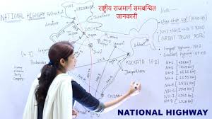 Pathankot India Map by Gk Geography India National Highway For Psc Upsc Ssc Cgl And