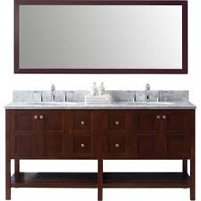 Bathrooms With Double Vanities Modern Bathroom Vanities U0026 Cabinets Allmodern