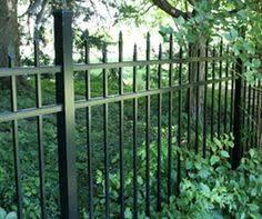 allure aluminum worthington 4 ft x 6 ft black aluminum 3 rail 4 u0027 w x 5 u0027 h traditional series 3 rail steel gate kit flat top