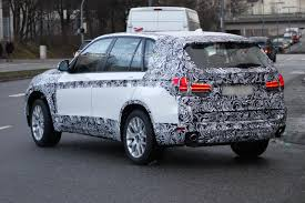 Bmw X5 Facelift - f15 bmw x5 spied with less camouflage bmwcoop