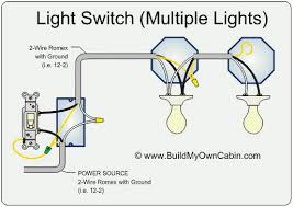 outstanding light switch wiring diagram u2013 multiple lights and also