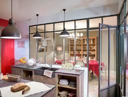 decoration interieur cuisine verri re d int rieur pour cuisine c t maison avec verriere