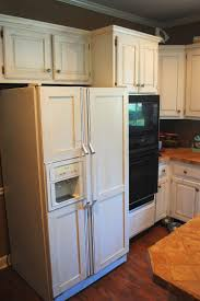 how to frame a door opening how to panel a refrigerator door covering a refrigerator with wood