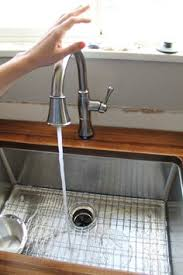 touch faucets for kitchen delta cassidy touch2o kitchen faucet after isn t it beautiful