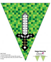 minecraft party decorations banner 3 minecraft party decorations free printable ideas from