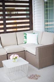 our back patio with loom decor u0026 havenly glitter u0026 gingham