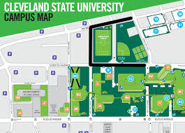 Portland State University Campus Map by Cleveland State University Csu Photo Page 2