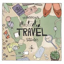 travel art images Illustrated travel stories travel illustration and tips by yaansoon jpg