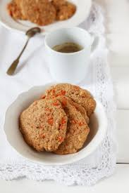orange coconut cookies with fresh orange juice