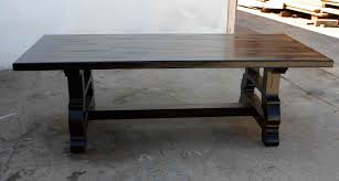 industrial glass dining table magnificent rustic industrial wood dining tables with hardwood top
