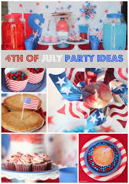 4th Of July Decoration Ideas 4th Of July Party Ideas On A Budget Play Party Plan