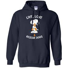 snoopy live and rescue dogs shirt hoodie sweater rockatee